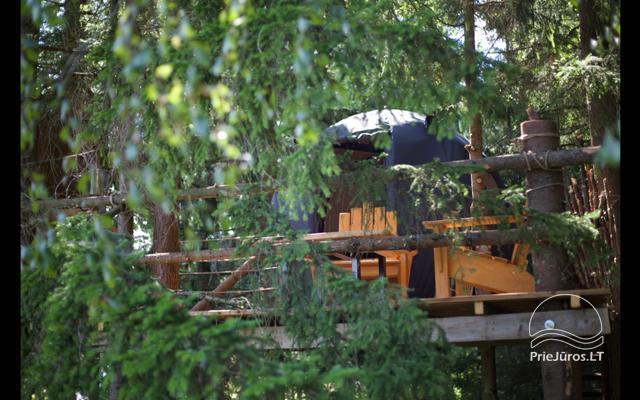 Małe domy wakacyjne do wynajęcia niedaleko od Sventoji (sauna, konie) - 16