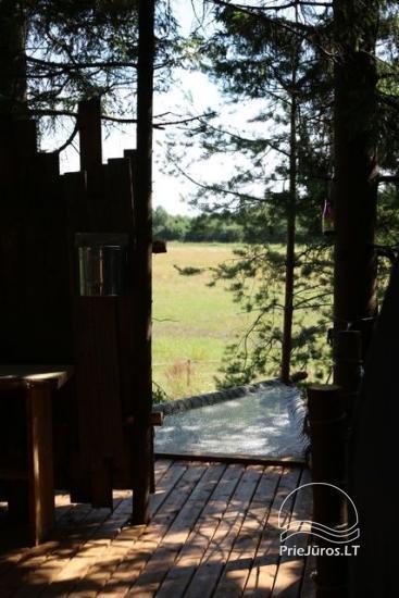 Małe domy wakacyjne do wynajęcia niedaleko od Sventoji (sauna, konie) - 18