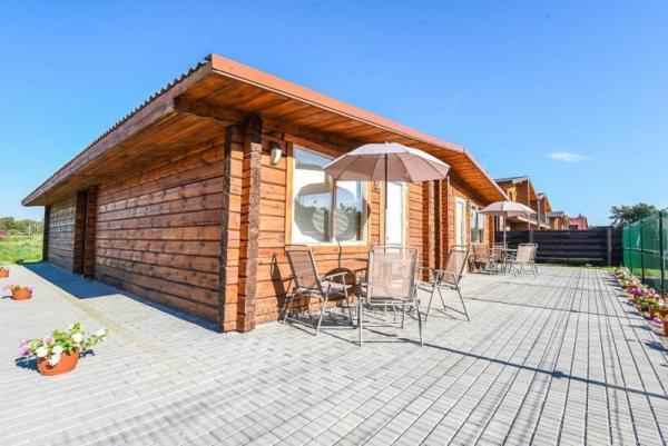 9 LELIJOS - drewniane domki letniskowe do przytulnego rodzinnego wypoczynku