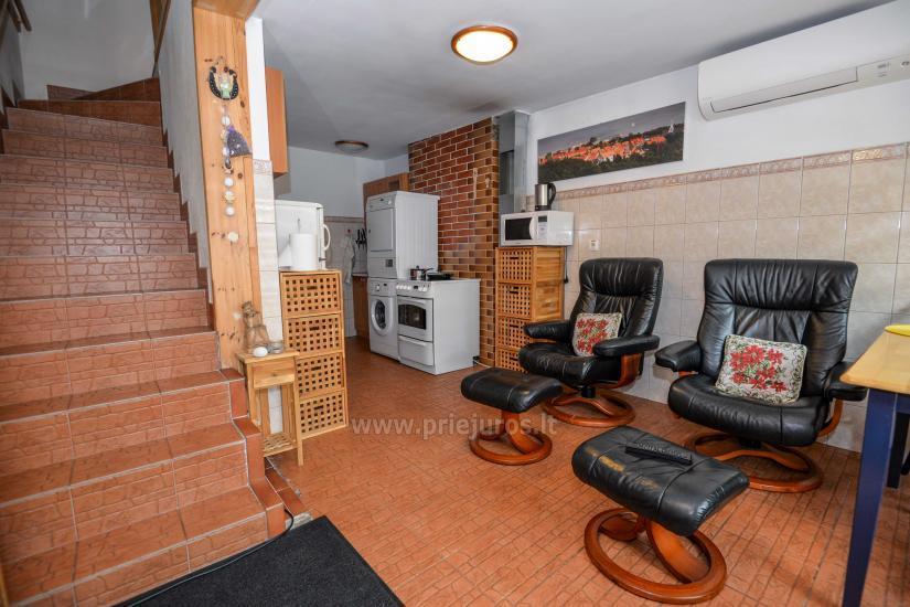 Dwa pokoje mieszkanie w Nidzie: internet, taras, bezpłatny parking - 5