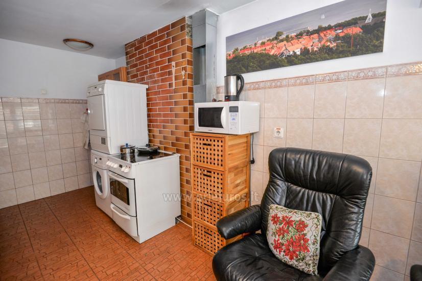 Dwa pokoje mieszkanie w Nidzie: internet, taras, bezpłatny parking - 7
