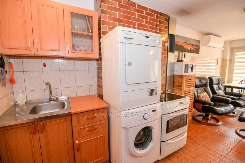 Dwa pokoje mieszkanie w Nidzie: internet, taras, bezpłatny parking - 4