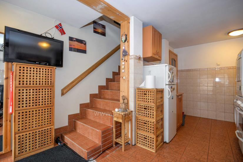 Dwa pokoje mieszkanie w Nidzie: internet, taras, bezpłatny parking - 6