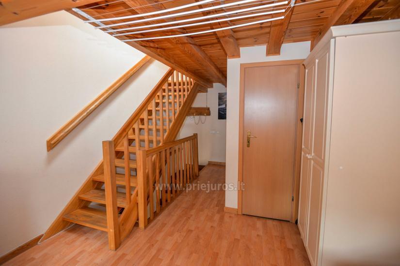 Dwa pokoje mieszkanie w Nidzie: internet, taras, bezpłatny parking - 11
