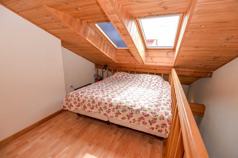 Dwa pokoje mieszkanie w Nidzie: internet, taras, bezpłatny parking - 1