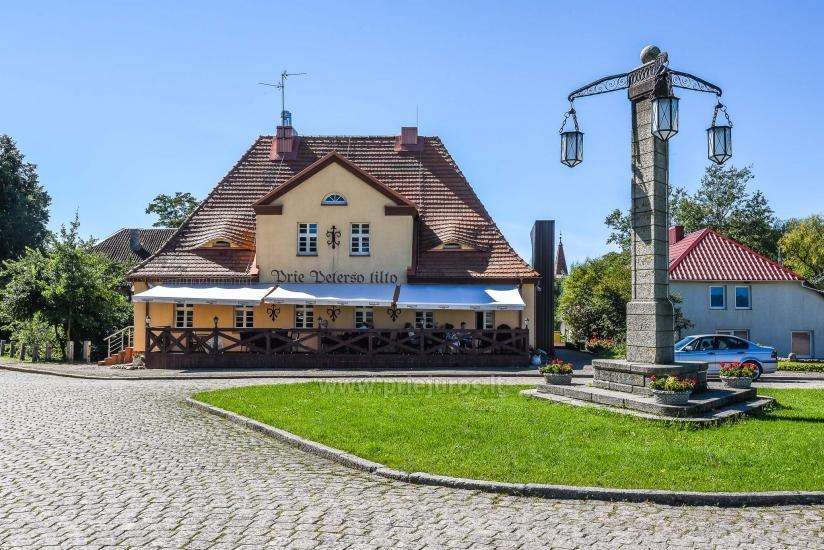 """Willa """"Prie Peterso tilto"""" w Rusne: zakwaterowanie, restauracja - 1"""