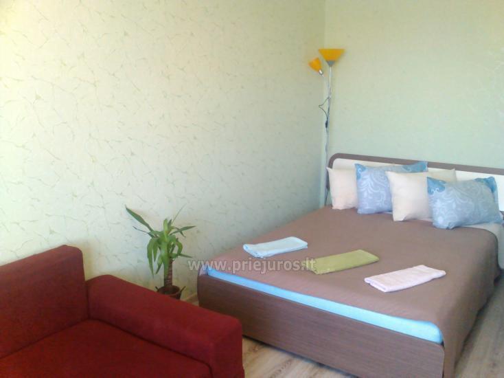 Jedno pokojowe mieszkanie do wynajęcia w Kłajpedzie: godziny, dni, tygodnie - 3