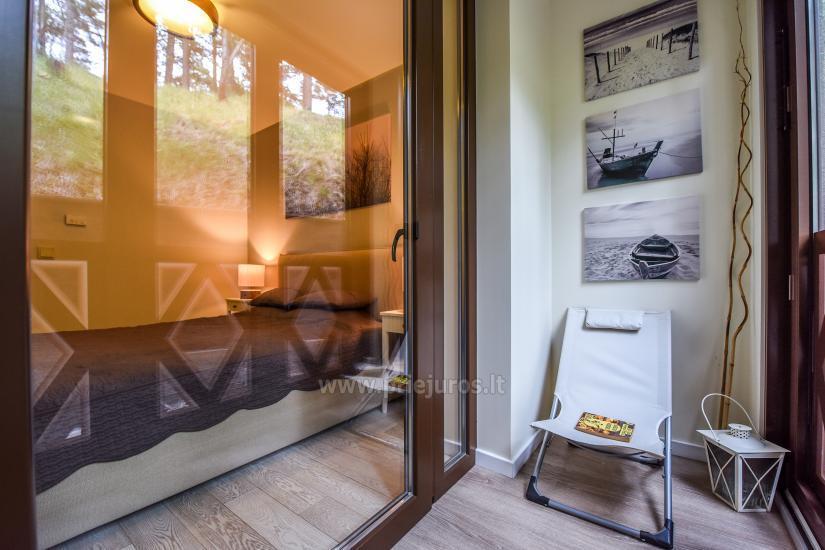 Nowy przestronny apartament Nidos Vilnelė z tarasem i miejscem parkingowym w Nidzie - 17