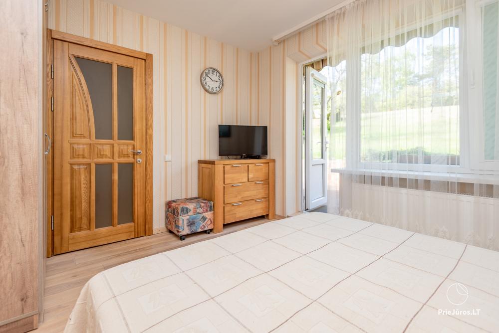 Nowo wyremontowany Dwupokojowy apartament z tarasem w centrum Nidy - 9