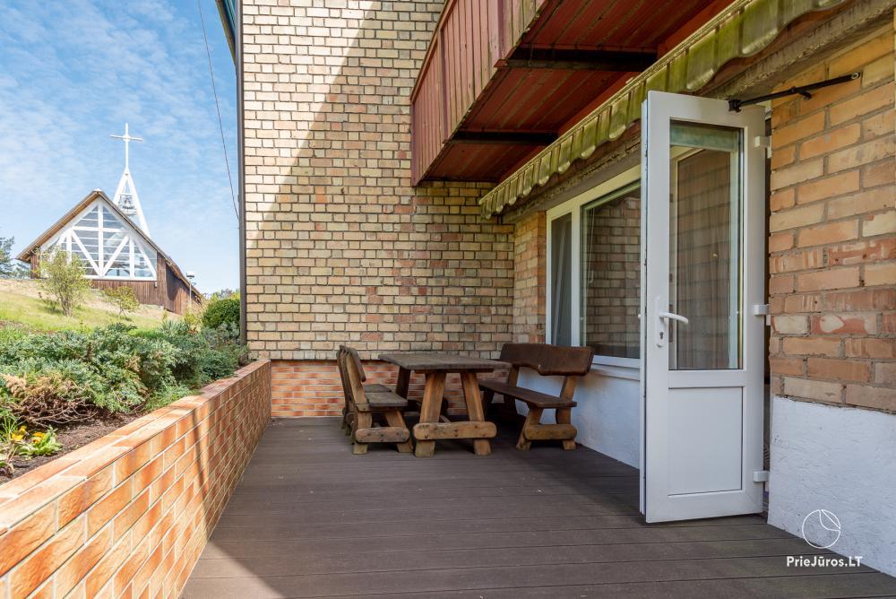 Nowo wyremontowany Dwupokojowy apartament z tarasem w centrum Nidy - 10