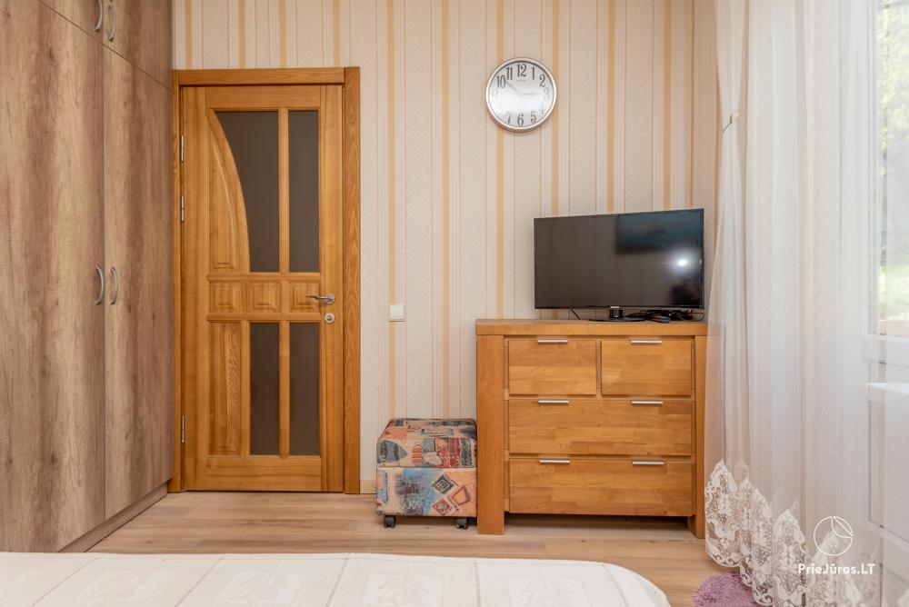 Nowo wyremontowany Dwupokojowy apartament z tarasem w centrum Nidy - 13