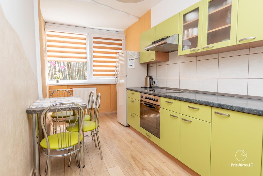 Nowo wyremontowany Dwupokojowy apartament z tarasem w centrum Nidy - 7