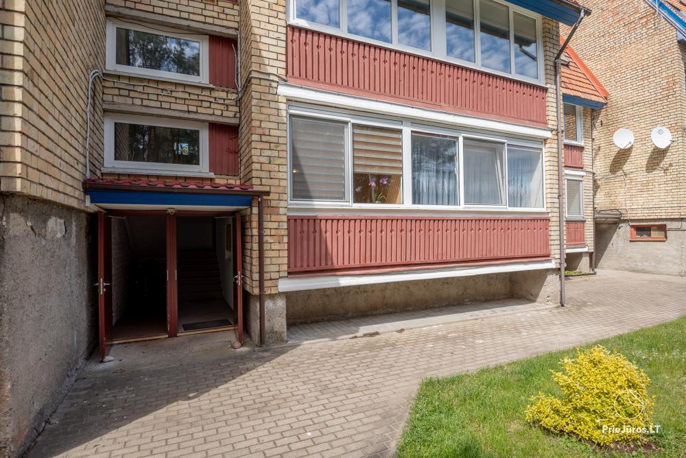 Nowo wyremontowany Dwupokojowy apartament z tarasem w centrum Nidy - 16