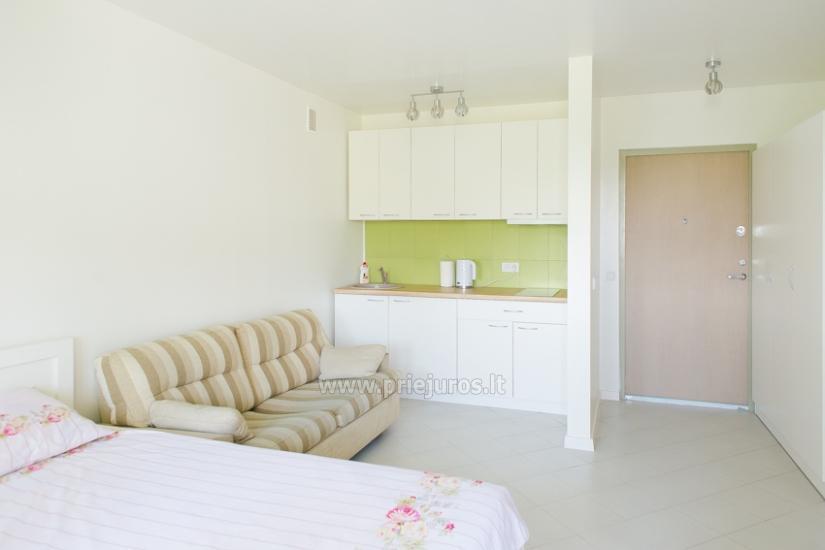 Przytulny, nowocześnie wyposażone mieszkanie 1 pokoje do wynajęcia w Sventoji - 1