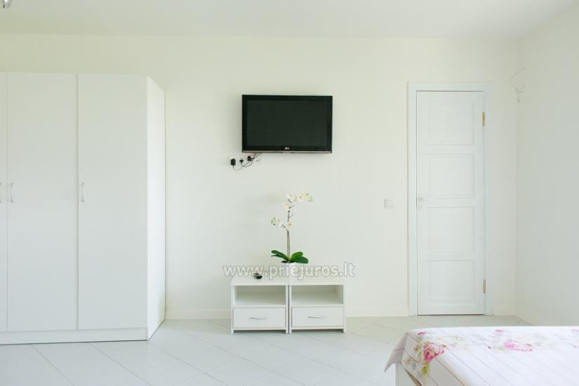 Przytulny, nowocześnie wyposażone mieszkanie 1 pokoje do wynajęcia w Sventoji - 4