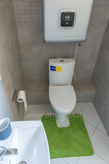 Przytulny, nowocześnie wyposażone mieszkanie 1 pokoje do wynajęcia w Sventoji - 7