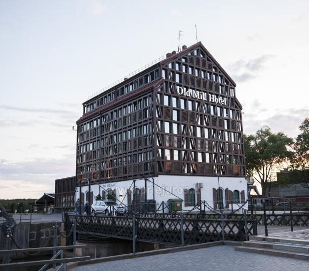 Modern hotel w Klajpedzie Old Mill Hotel *** - 14