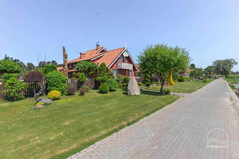 Dom Goscinny w Nidzie Villa Elvyra - 14