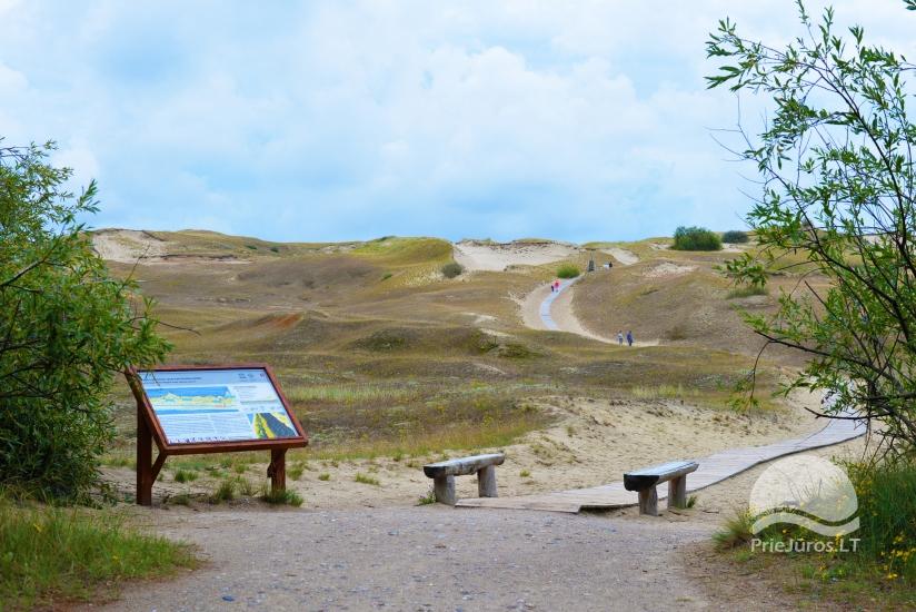 Rezerwat Nagliu, ścieżka poznawcza