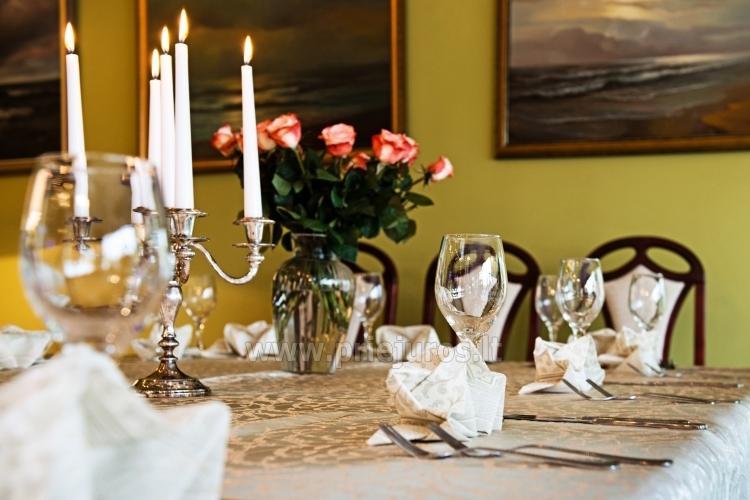 Restauracja w hotelu w Połądze Best Baltic Hotel Palanga - 1