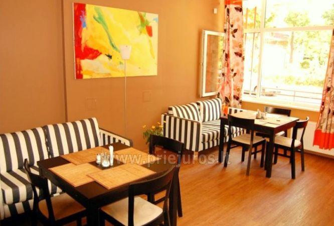 Cafe w Poladze w hotelu Palangos daile