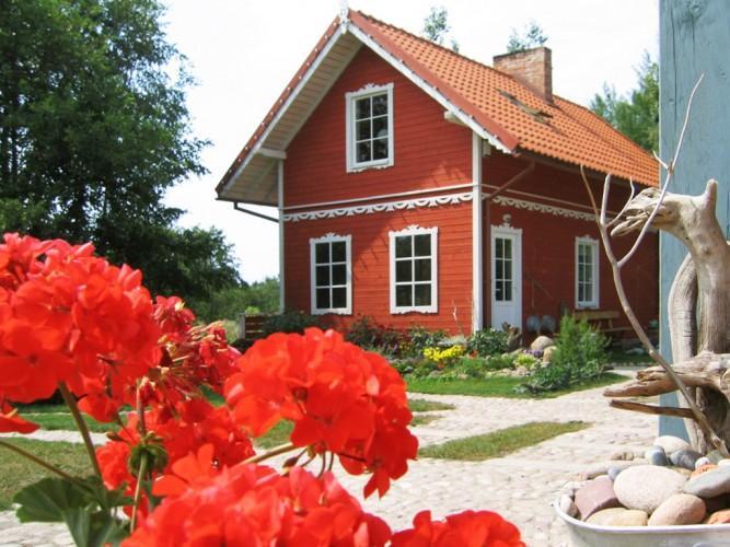 Laznia w Poladze, dom goscinny Provincija
