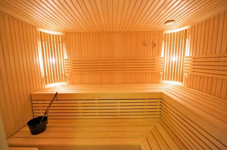 Artemide. Sauna in Family Hotel in Palanga