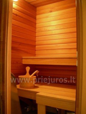 Apartament z sauna w Nidzie