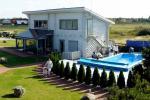 Sauna i basen w domu wakacyjnym Sventoji