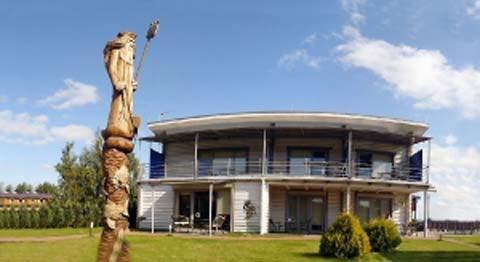 Sala konferencyjna w Sventoji, dom wakacyjny 52 Pylimo