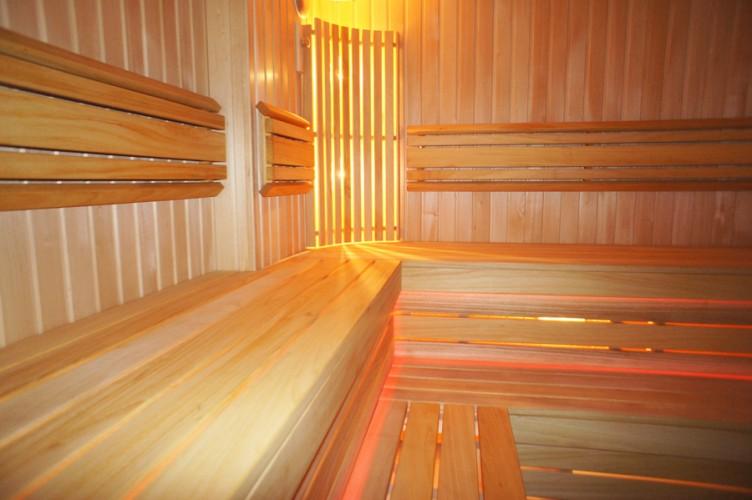 Sauna nad morzem w Sventoji w domu goscinnim OSUPIO TAKAS - 11