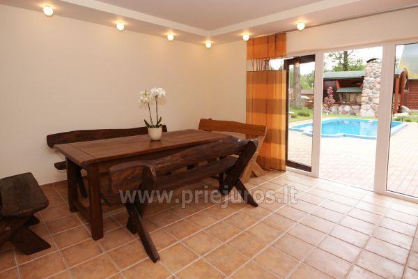 Sauna nad morzem w Sventoji w domu goscinnim OSUPIO TAKAS - 5