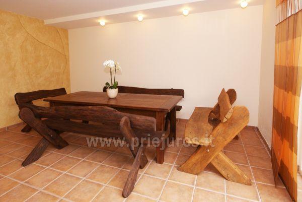 Sauna nad morzem w Sventoji w domu goscinnim OSUPIO TAKAS - 9