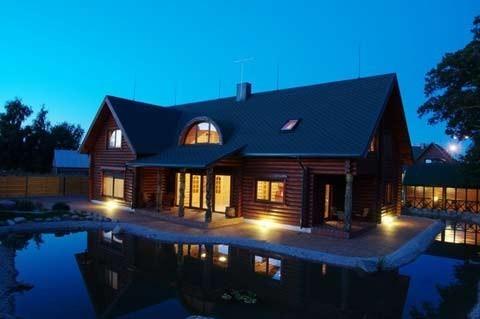 Sauna nad morzem w Sventoji w domu goscinnim OSUPIO TAKAS - 3