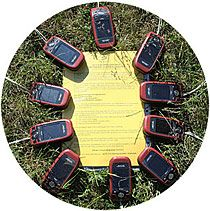 Interactive game GPS challenge - 1