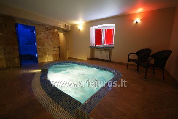 Noclegi, sauna i jacuzzi w Klajpedzie