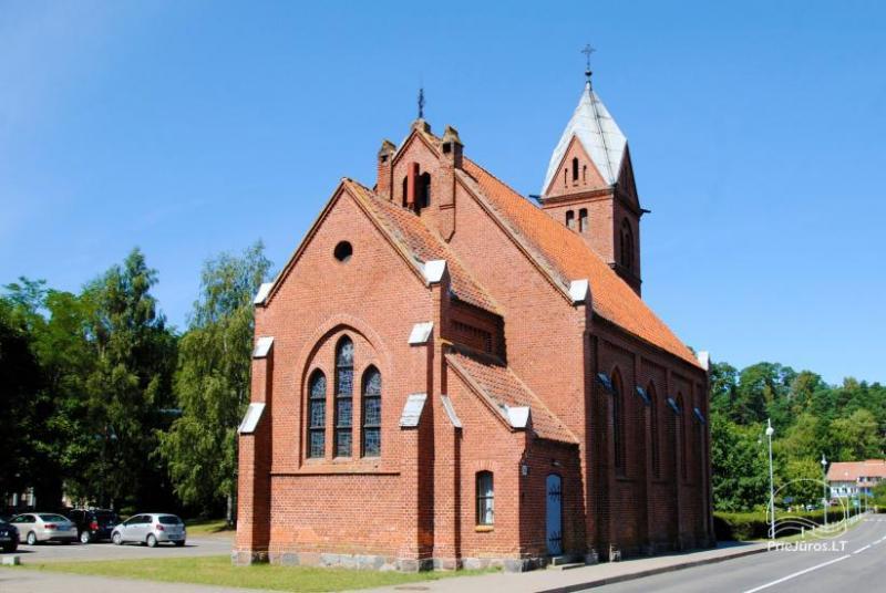 Kościół ewangelicko-luterański w Juodkrante