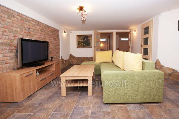 Apartament w Sventoji z sauna