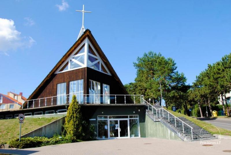 Kościół rzymskokatolicki w Nidzie, Mierzeja Kurońska