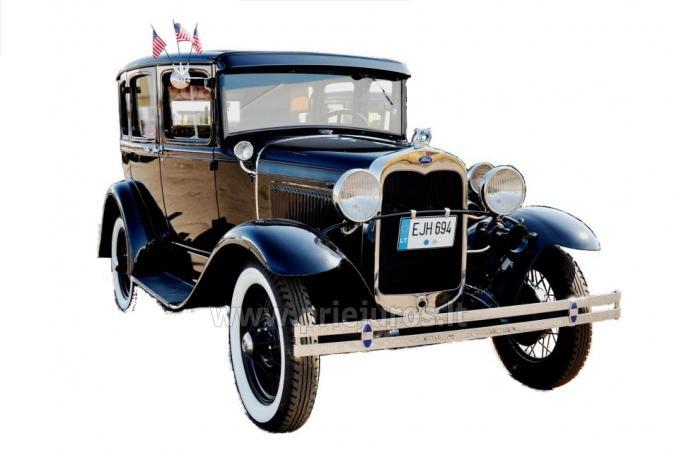 Samochod Ford Model A 1930 do wynajecia