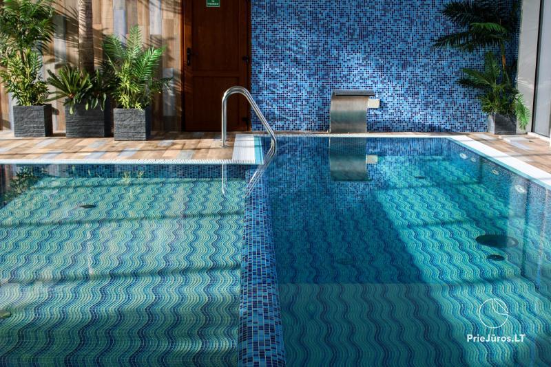 SPA w RADAILIU DVARAS: kompleks basenów i saun, masaże, rytuały SPA