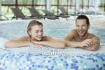 Rehabilitacyjnej leczenie, spa, sauna, basen w sanatorium w Palanga Gradiali