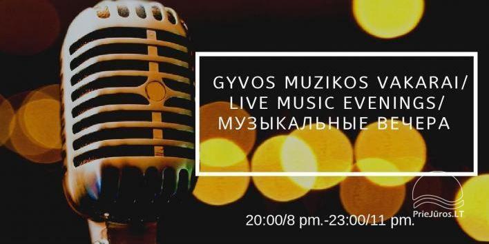 Imprezy i koncerty w sanatorium Gradiali w Połądze