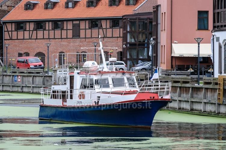 Wyprawy na połowy dorsza w Litwe (port Klajpeda) stetek BRIZO - 1