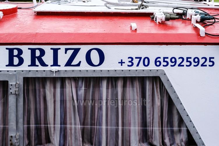 Wyprawy na połowy dorsza w Litwe (port Klajpeda) stetek BRIZO - 15