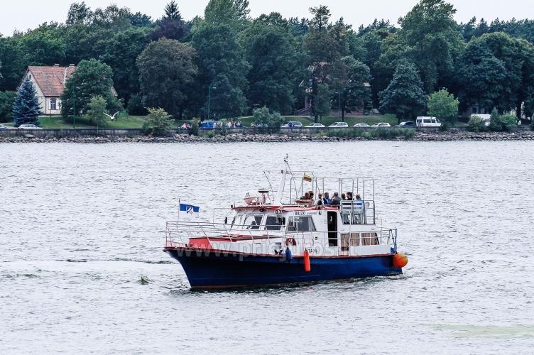 Wyprawy na połowy dorsza w Litwe (port Klajpeda) stetek BRIZO - 4