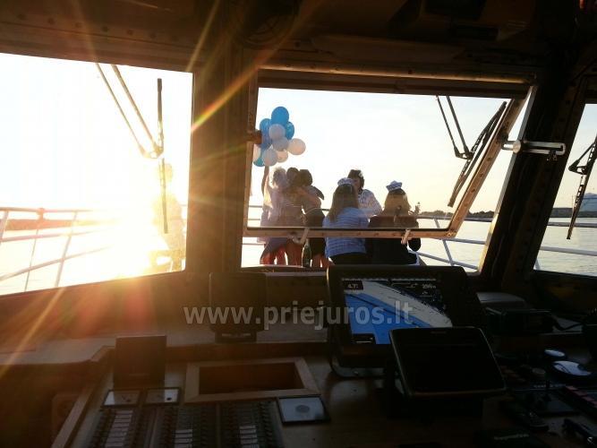 Wyprawy na połowy dorsza w Litwe (port Klajpeda) stetek BRIZO - 6