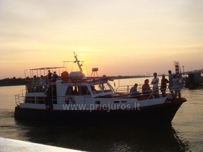 Wyprawy na połowy dorsza w Litwe (port Klajpeda) stetek BRIZO - 5