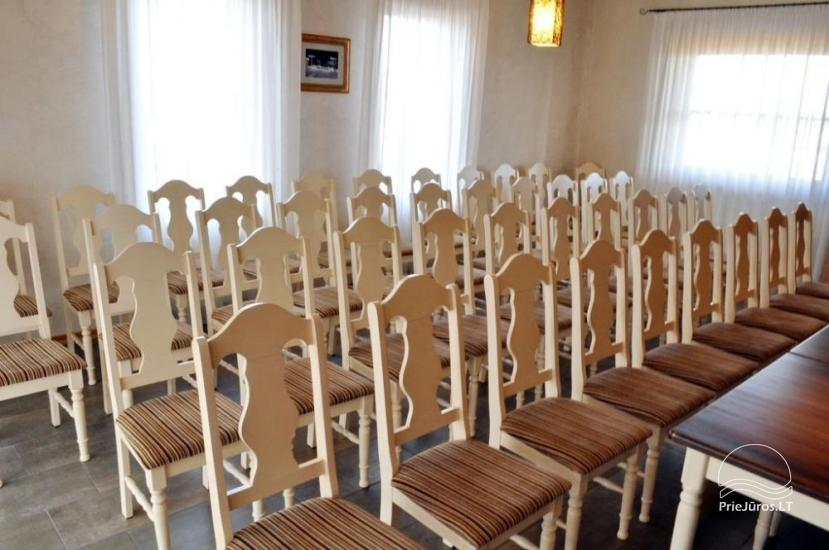 Conference-hall in Hotel Pajurio sodyba - 1