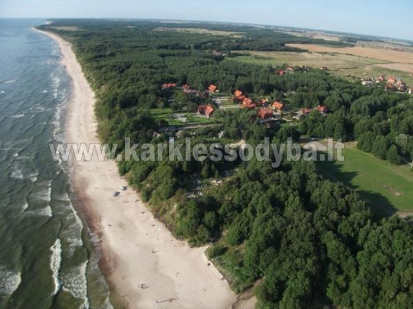 Laznia nad morzem w Klajpedskim rejonie  Agroturystyka KARKLE